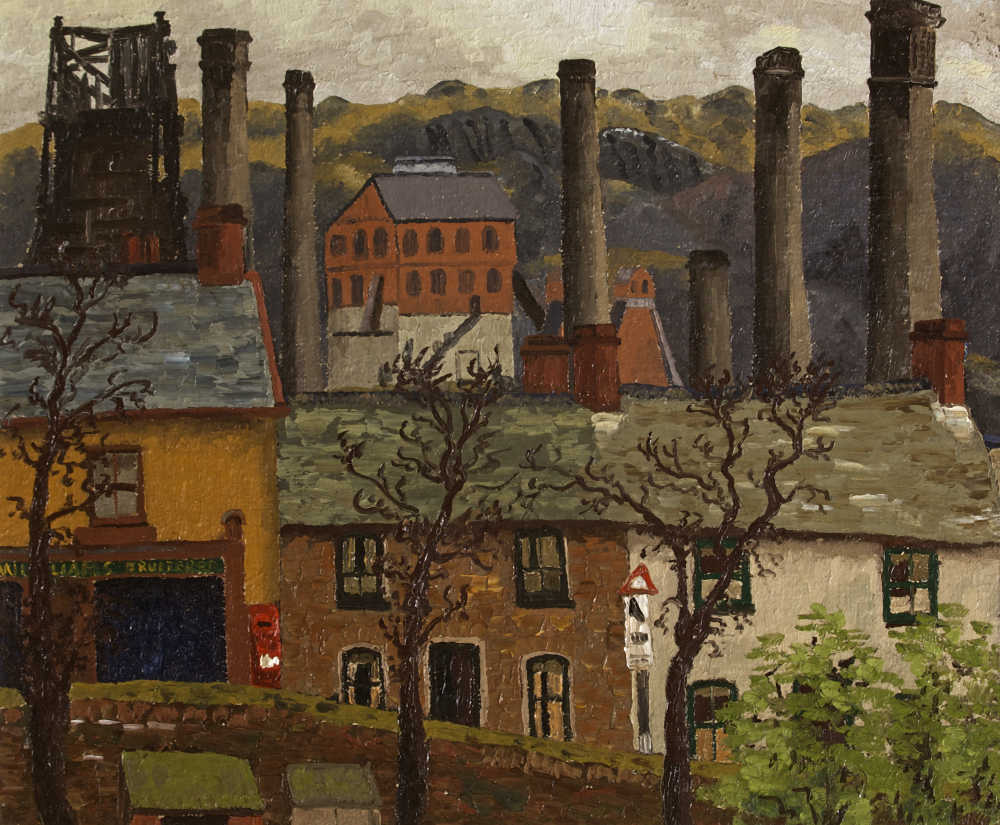 Cedric Morris Caeharris Post Office Dowlais