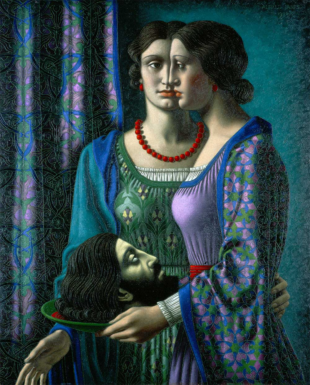 Salome by Alfred Janes 1938 Merthyr Tydfil County Borough Council c estate of the artist