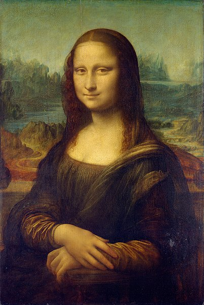 402px Mona Lisa by Leonardo da Vinci from C2RMF retouched