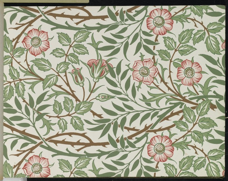Brooklyn Museum Wallpaper Sample Book 1 William Morris and Company page034
